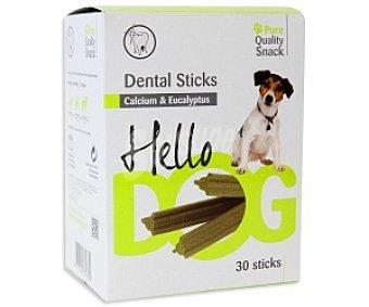 PURE Quality Snack Snack dental de calcio y eucalipto 30 Unidades