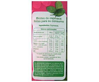 Auchan Brotes de espinaca, 150 gramos