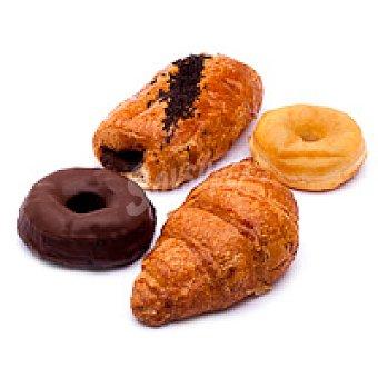 Desayuno familiar berlina-croissant-malla Bandeja 6 unid