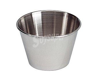 IMF Molde para flanes fabricado en acero inoxidable, 8x5,5 centímetros 1 Unidad