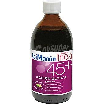 Bimanan triple acción eliminar grasas depurar y drenar  LINEA 45+ Acción Global envase 300 ml