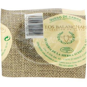 BALANCHARES Queso de cabra  Pieza 70 g