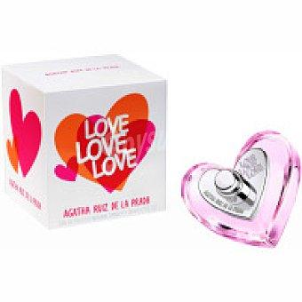 Ágatha Ruiz de la Prada Colonia para mujer Love 50 ml