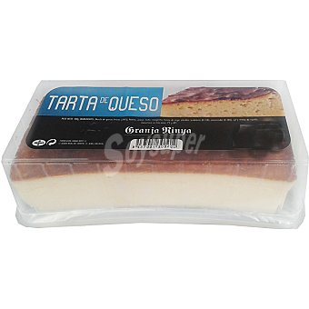 Granja rinya Tarta de queso  Pieza 400 g