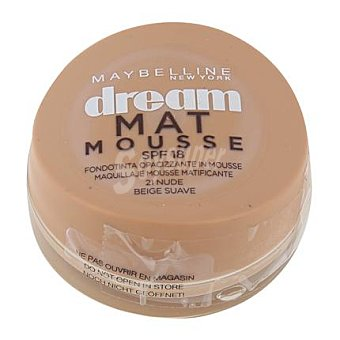 Maybelline New York Maquillaje dream mat mousse 21 nude 1 ud