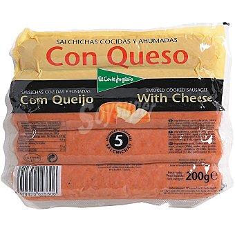 El Corte Inglés Salchichas con queso Bolsa 200 g