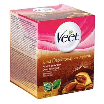 Veet Cera depilatoria tibia aceite de argán Tarro 250 ml