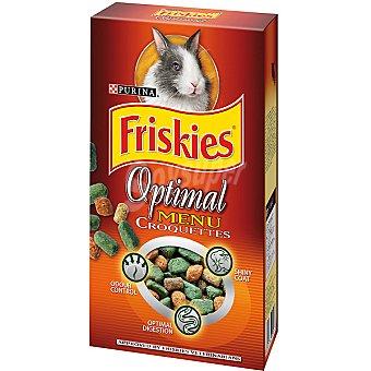 Friskies Purina Croquettes para conejos enanos Optimal Menu paquete 400 g