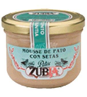 Zubia Mousse de pato con setas zubia 190 g