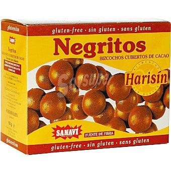 SANAVI Negritos Bolitas de galleta con cacao Estuche 150 g