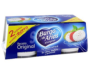 Burgo de Arias Queso Burgos Envase Pack2x240 gr