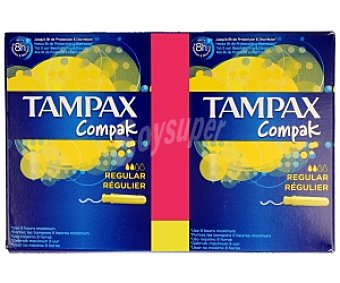 Tampax Tampones regulares 60 unidades