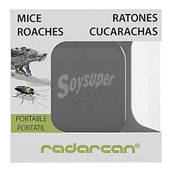 Radarcan Ahuyentador ratones y cucarachas portátil 1 unidad