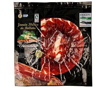 Villar Jamón ibérico de bellota en lonchas corte de cuchillo 100 gramos