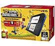 Cónsola en Color negro/azul + Juego Super Mario Bros 2 nintendo 2Ds  Nintendo