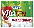 Yogur líquido control tensión arterial sabor tropical de KAIKU Vitaten . 6 uds VITATEN Vita ten