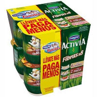 Activia Danone Activia de cereales-muesli-fresa Pack 8x125 g