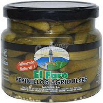 Faro Pepinillos agridulces Frasco 500 g