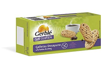 GERBLE Galleta desayuno Sin Gluten 200 g