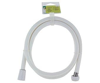 Productos Económicos Alcampo Manguera flexible de Pvc para baños de 1,5 metros color blanco 1 Unidad
