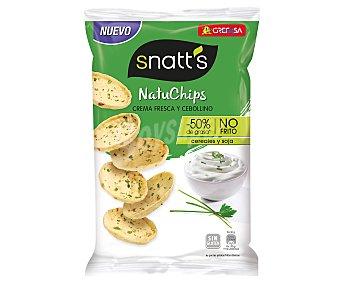Snatt's Grefusa Natuchips crema fresca y cebollino ´S Envase 85 g