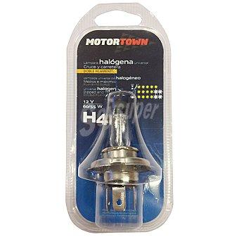 Motortown H4 12 V 55 W Lámpara universal de cruce y carretera de doble filamento para automóvil