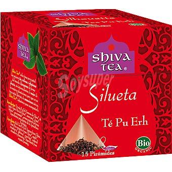 SHIVA TEA Silueta té Pu Erh 15 bolsitas Caja 30 g