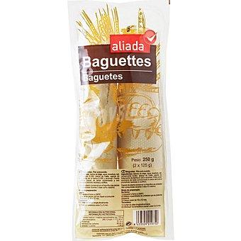 Aliada Baguettes precocidas envase 250 g 2 unidades