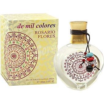 ROSARIO FLORES De Mil Colores eau de toilette femenina vaporizador 100 ml