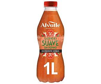 Alvalle Gazpacho suave sin pepino y sin gluten Botella 1 l