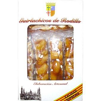 GUIRLACHICOS Turrón guirlache de rodillo elaboración artesanal Estuche 250 g