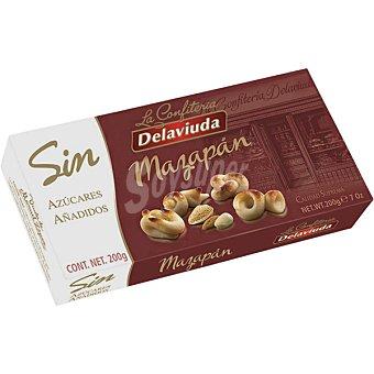 Delaviuda Sin azúcar mazapán Estuche 200 g