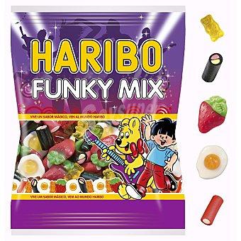 Haribo Golosinas surtidas funky mix bolsa 300 gr Bolsa 300 gr