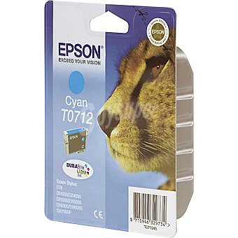 EPSON Stylus T0712 Cartucho de tinta color cyan
