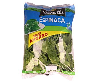 Florette Espinacas crudas Bolsa 450 g