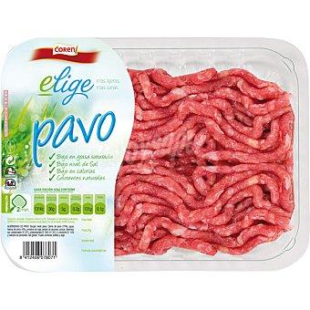 Coren Menú preparado de carne picada de pavo Bandeja 400 g