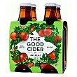 Sidra de manzana sin alcohol The Good Cider Pack 4x25 cl Jai-Alai