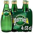 Agua con gas Pack 4 botellines x 33 cl Perrier Nestlé