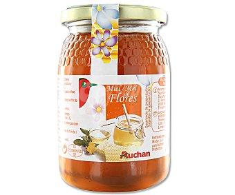 Auchan Miel de flores en frasco 500 gramos