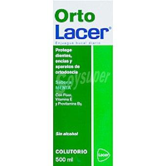 ORTOLACER Colutorio de menta Botella 500 ml