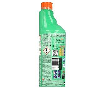 Zas Kh-7 Limpiador de baños sin aclarado con aroma a manzana y hierbabuena 750 mililitros