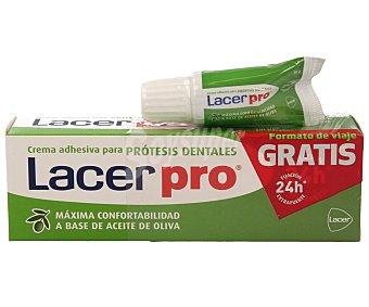 Lacer Crema adhesiva extrafuerte para prótesis dentales 70 g