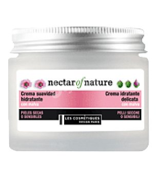 Les Cosmétiques Crema hidratante con malva para pieles secas o sensibles 50 ml.