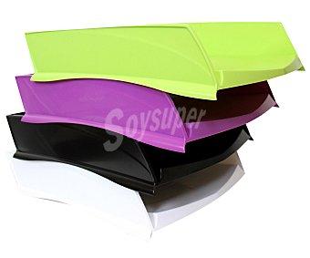 Auchan Bandeja de ordenación apilable y de plástico de varios colores auchan. Este producto dispone de distintos modelos o colores. Se venden por separado SE surtirán según existencias