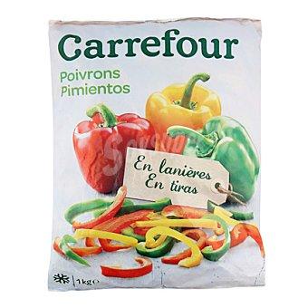 Carrefour Pimiento Tiras Tricolor 1 kg