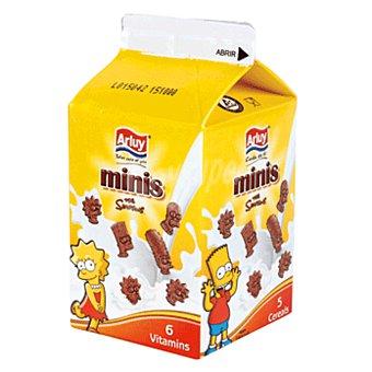 Arluy Simpson mini galletas chocolateadas de desayuno Caja de 100 g