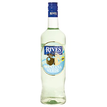 Rives Licor de manzana sin alcohol Botella 70 cl