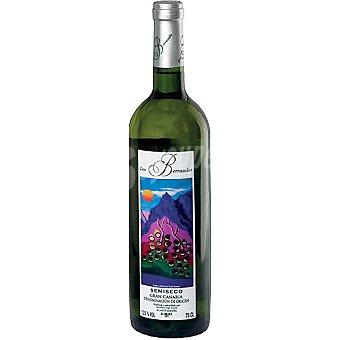 Los bezarrales Vino blanco semiseco D.O. Gran Canarias botella 75 cl Botella 75 cl