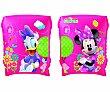 Manguitos hinchables infantiles de Minnie de 23x15 centimetros, recomendados para niños de 3 a 6 años 1 unidad Minnie Disney
