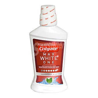 Colgate Max White Enjuague bucal blanqueador One 500 ml